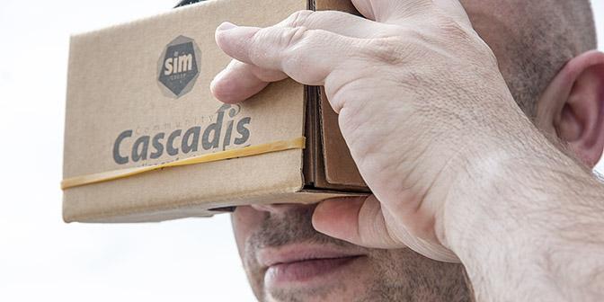 cardboard google VR