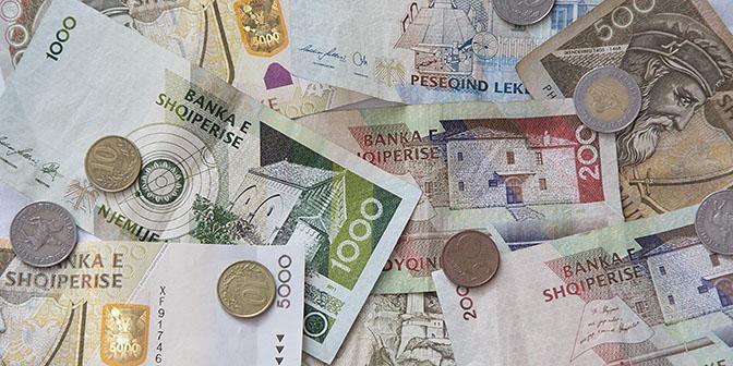 geld en budget albanie