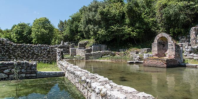 opgraving butrint albanie