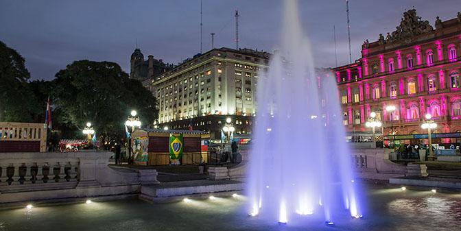 pink palace buenos aires