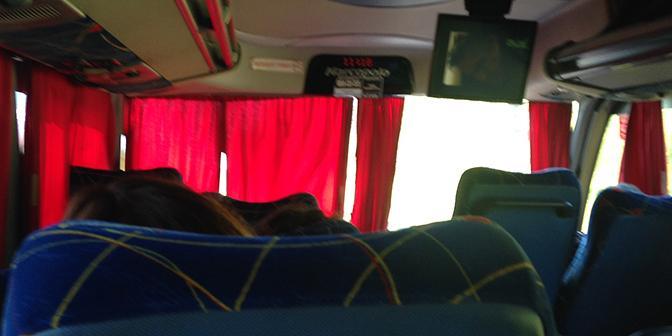 uitzicht bus argentinie