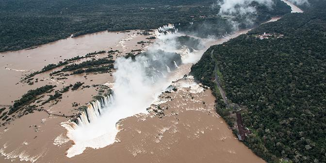 waterval fotografie argentinie