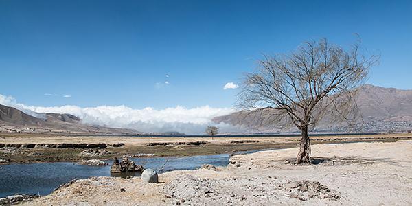 landschap tafi del valle argentinie