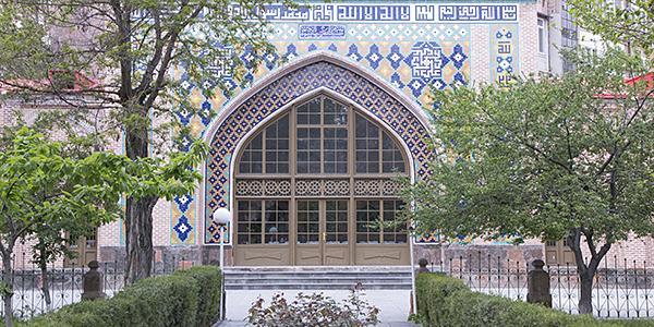 blue mosque in yerevan amenie