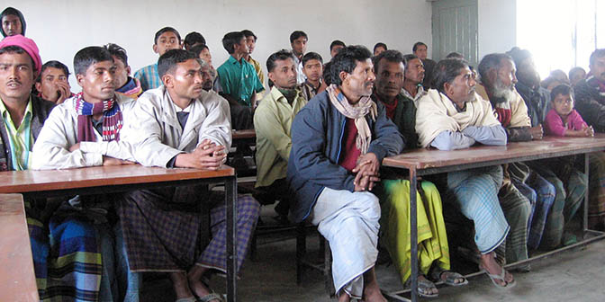 klaslokaal bangladesh