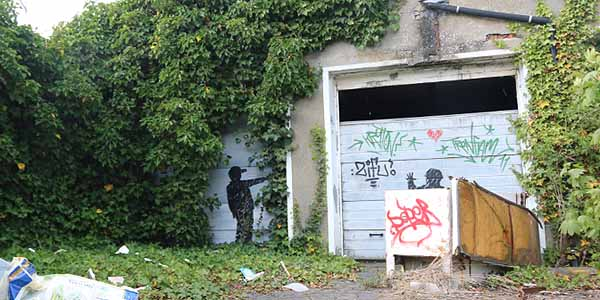 street art doel belgie