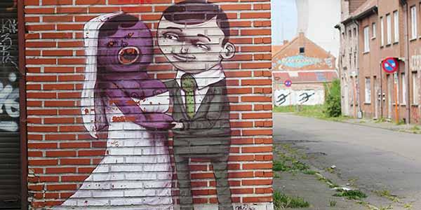 street art doel urbex