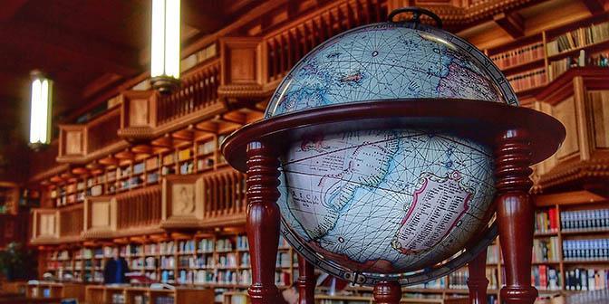leeszaal historische bibliotheek