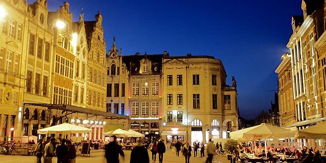 markt leuven belgie