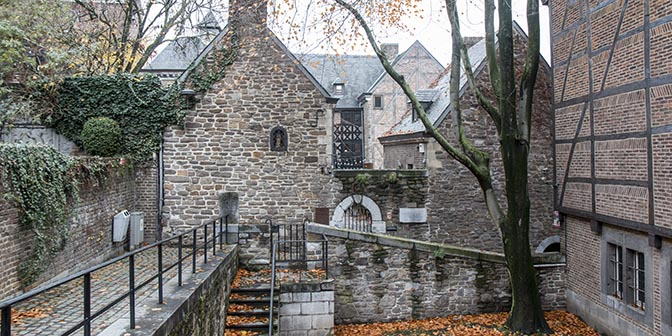 stadwandeling klooster luik