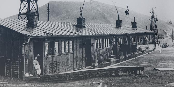 mijnwerkerswoning belgie