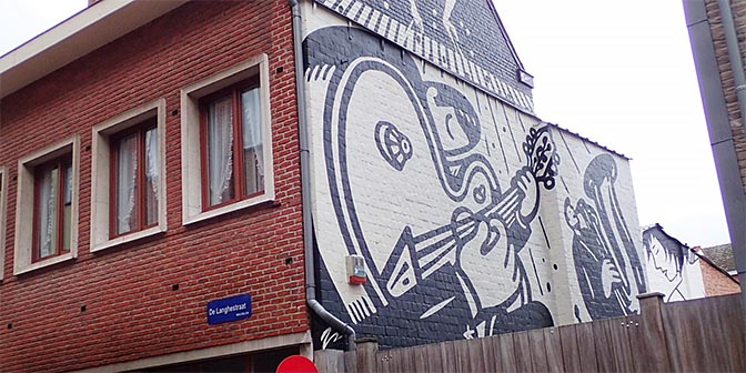 mural mechelen stedentrip