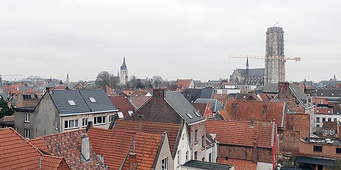 uitzicht mechelen belgie