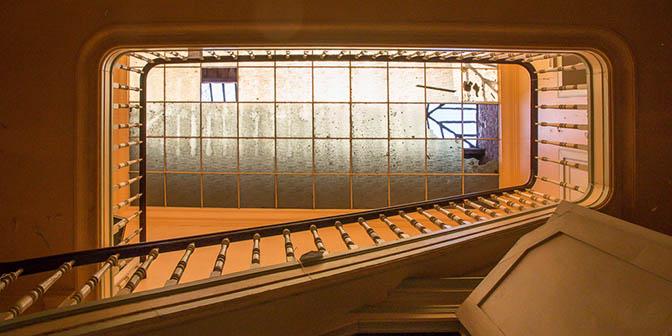 raam verlaten gebouw belgie