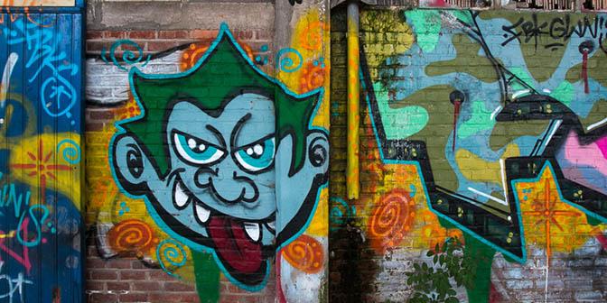 straatkunst urbex locatie