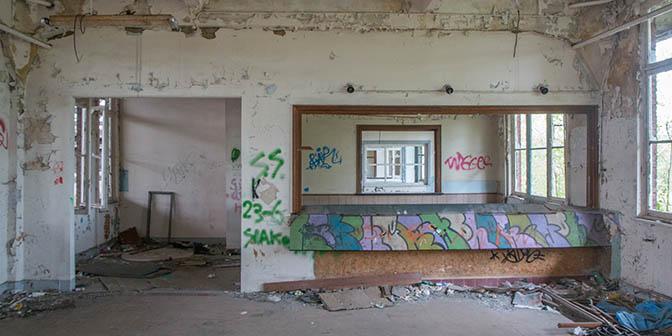loket montzen verlaten station belgie