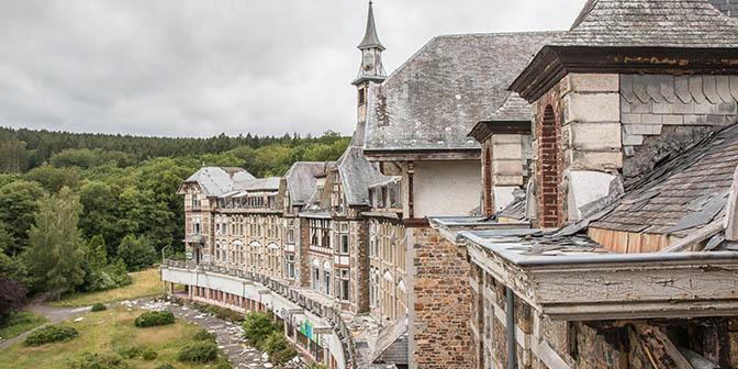 sanatorium du basil urbex