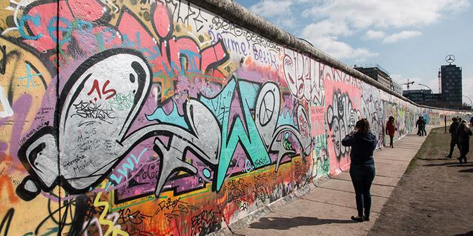 street art muur