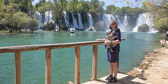 kravica watervallen bosnie