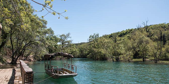kravice watervallen boot
