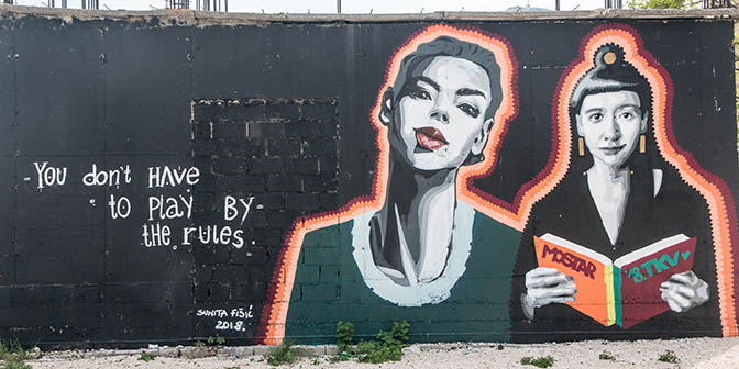 street art moster bezienswaardigheden