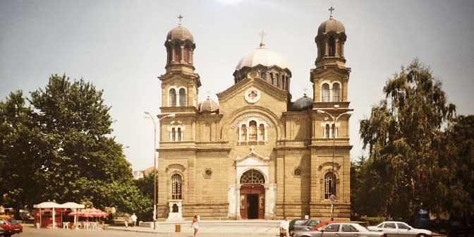 kerk burgas zee bulgarije