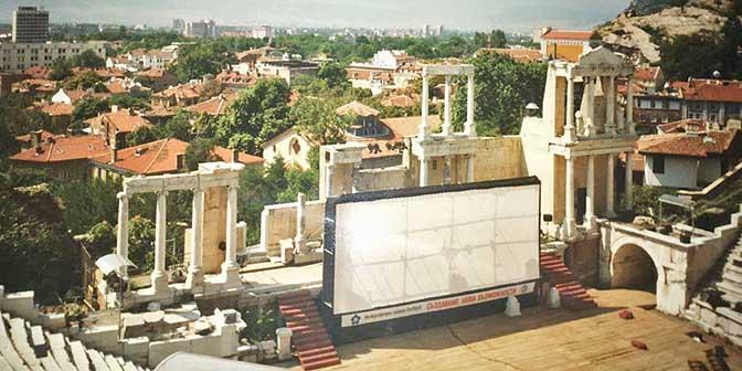 amfitheater akropolis plovdiv