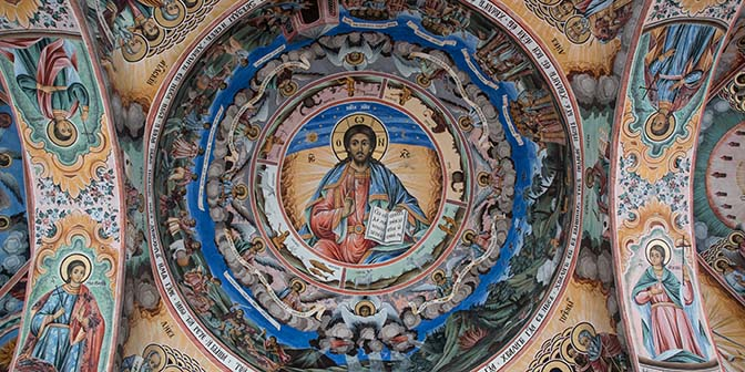 fresco rila klooster
