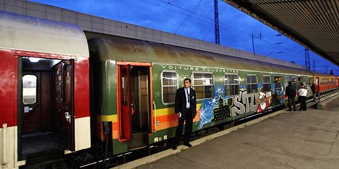 trein bulgarije