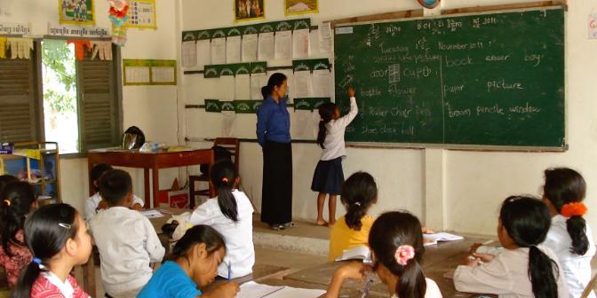 school cambodja
