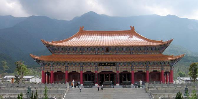 three pagodas temple