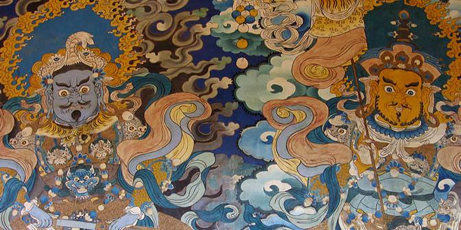 fresco songzanlin klooster