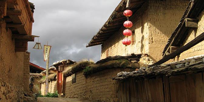 tibetaanse huizen sangri la