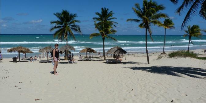 strand van cuba