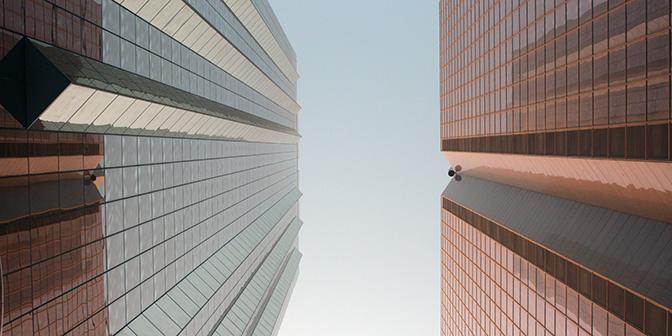 hoogbouw in dubai architectuur