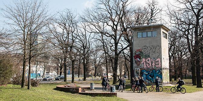 fietsen bunkers berlijn
