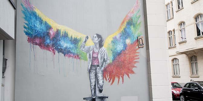 street art dusseldorf centrum