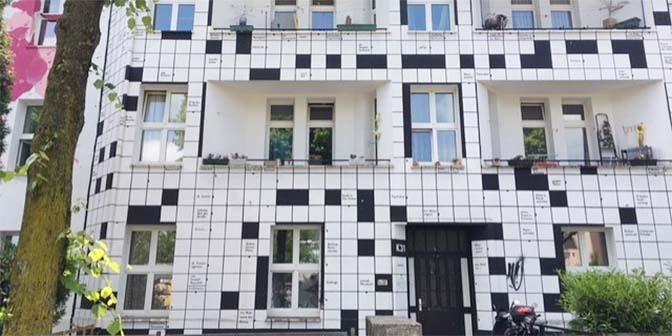 street art puzzel