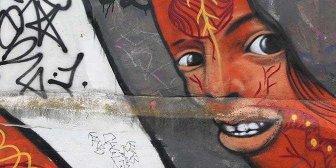 street art gezicht