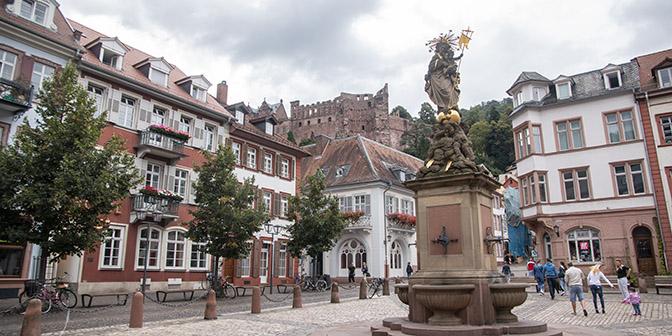 bezienswaardigheden oude centrum heidelberg
