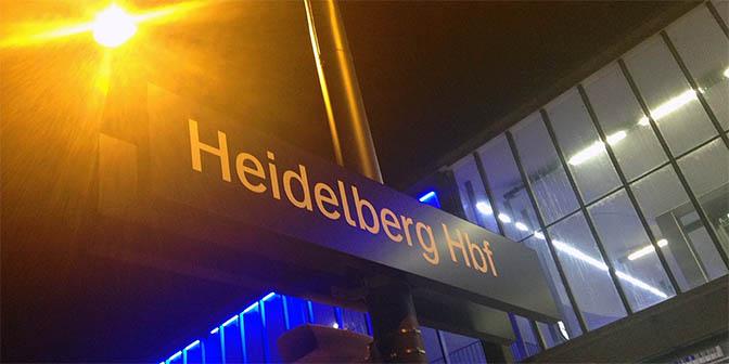 trein heidelberg duitsland