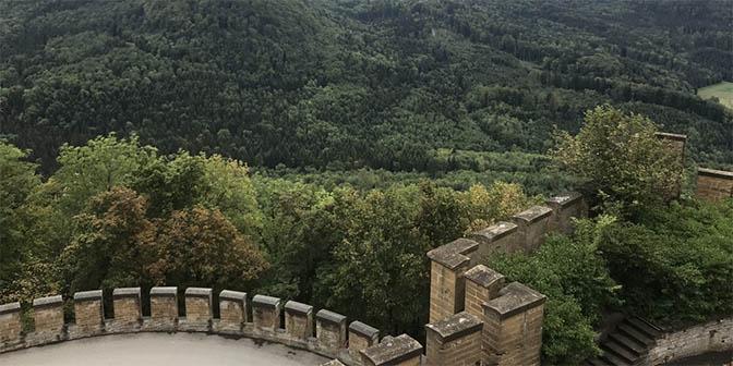 uitzicht kasteel duitsland