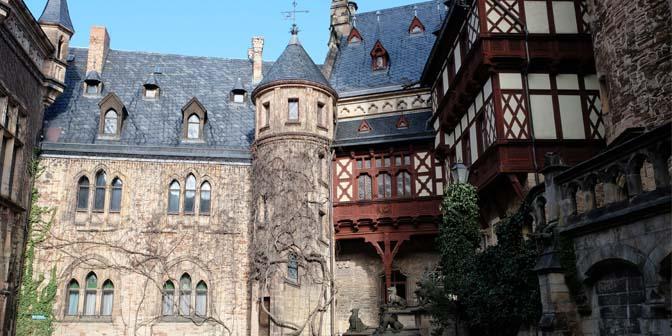 kasteel werningerode de harz