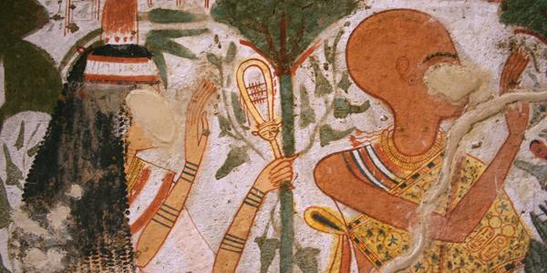 egypte luxor tombe