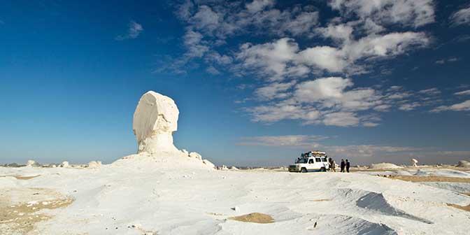 witte woestijn egypte