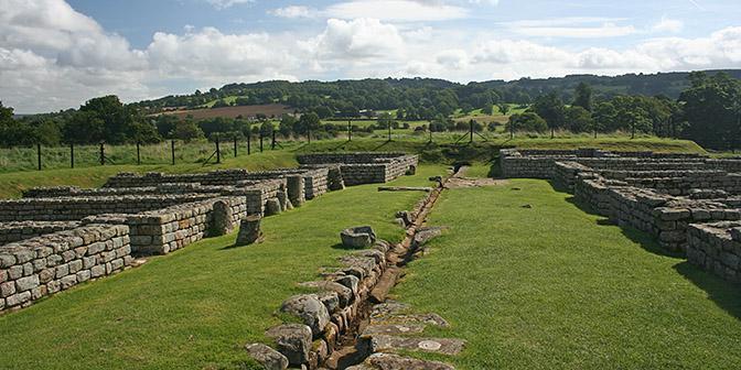 romeinse nederzetting hadrian wall