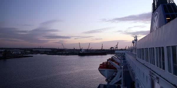 dfds newcastle