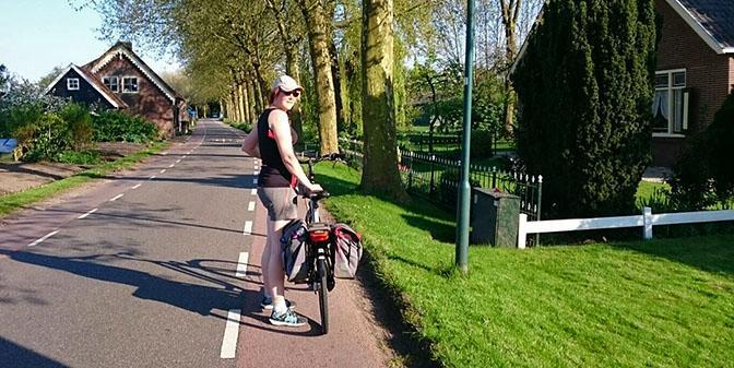 fietsen langs de limes