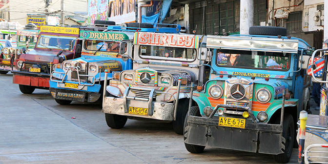 jeepney filipijnen