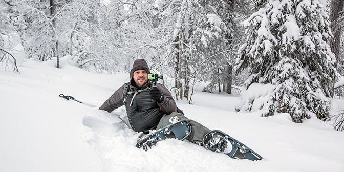 sneeuwschoen wandelen lapland